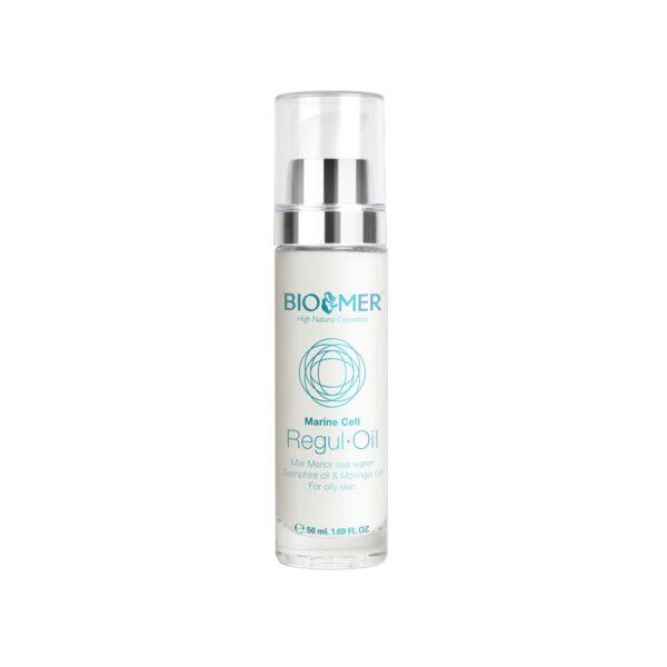 Crema tratament cu ulei de Moringa si acid hialuronic Regul Oil, Marine Cell - Bio Mer, 50 ml
