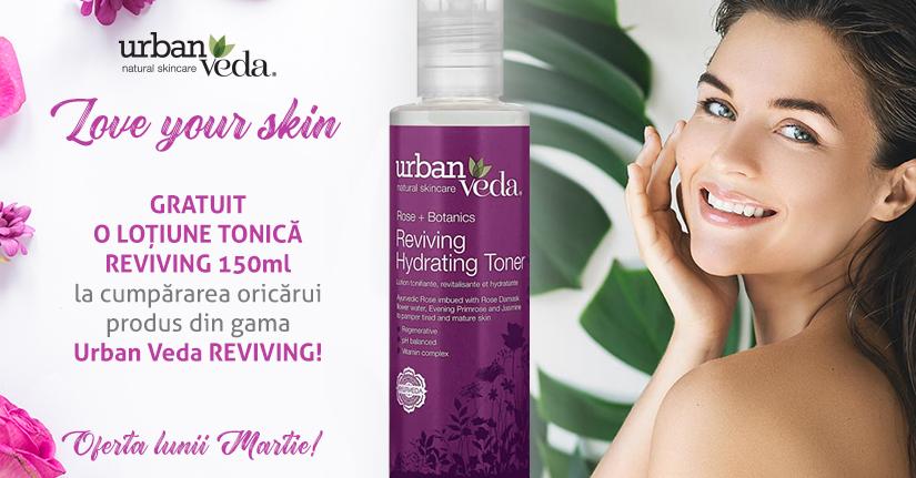 Love your skin – loțiune tonică cadou