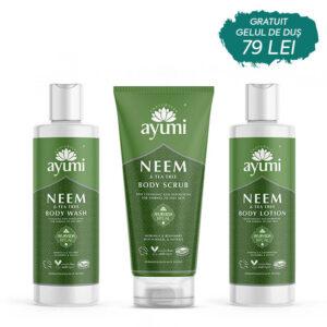 Set Trio body Neem, Ayumi