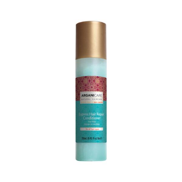 Spray reparator express fara clatire cu ulei de argan, pentru toate tipurile de par Arganicare, 250 ml