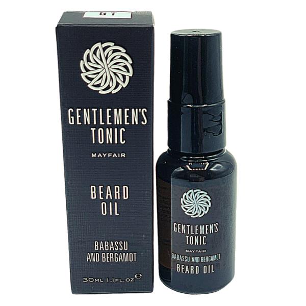 Ulei de barba, Babassu & Bergamot, Gentlemen's Tonic, 30 ml