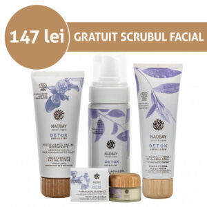 Full Face Detox Set, Naobay