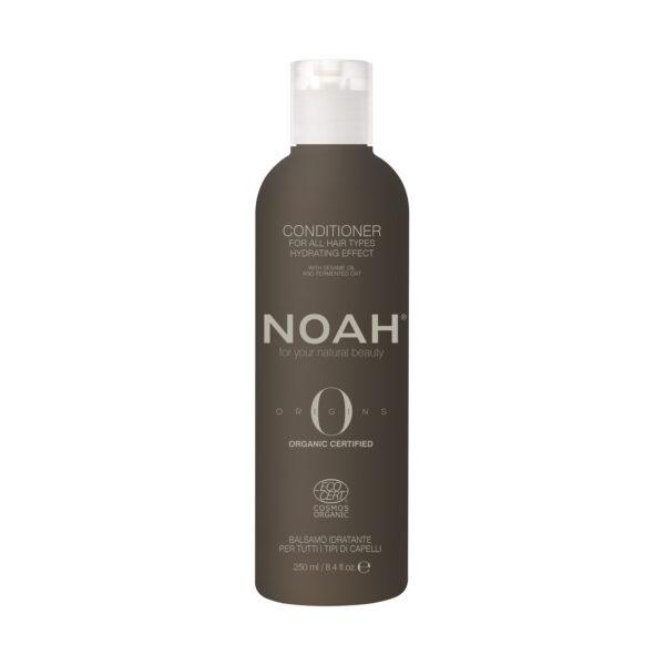 Balsam BIO hidratant cu ulei de susam pentru toate tipurile de par, Noah, 250 ml