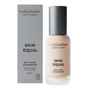 Fond de ten BIO cu SPF 15, 10 PORCELAIN, Madara, 30 ml