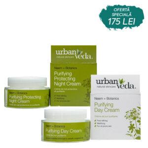 Set Day&Night Creams Purifying, Urban Veda