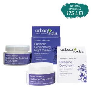 Set Day&Night Creams Radiance, Urban Veda