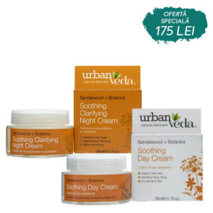 Set Day&Night Creams Soothing, Urban Veda