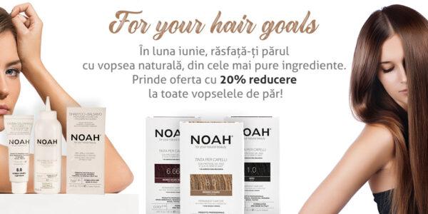 For your hair goals – 10% discount la toate vopselele de par