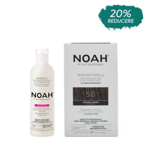 Set Color & Protect, Saten deschis, 5.0, Noah
