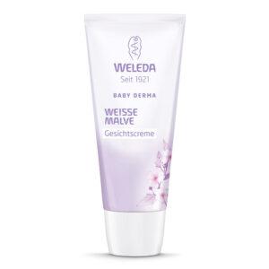 Crema facială cu nalba alba (piele hipersensibila) pentru copii, 50ml, Weleda
