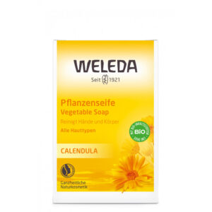 Sapun vegetal cu galbenele pentru copii, 100g, Weleda