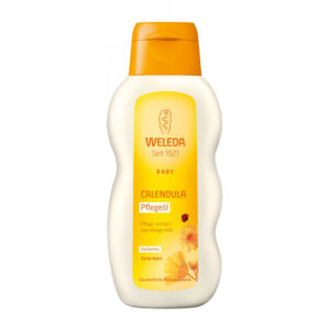 Ulei pentru corp cu galbenele fara parfum, pentru copii, 200ml, Weleda