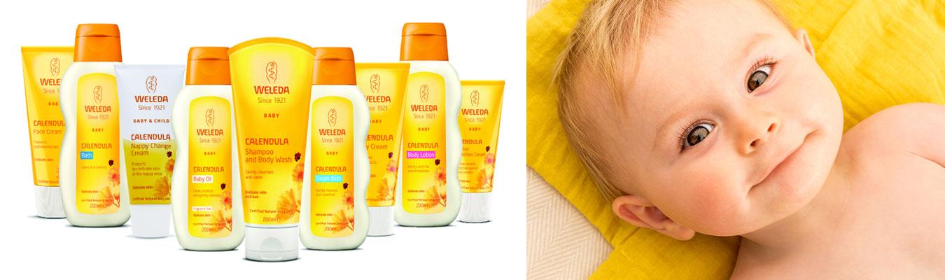 Cosmetice si Produse de ingrijire BIO de la Weleda