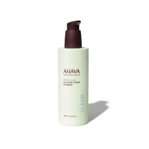 Tonic pentru curatare faciala 3 in 1 Ahava, 250 ml