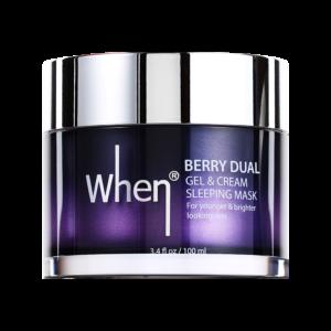 Masca coreana gel&crema regeneranta pentru noapte, 100 ml, When