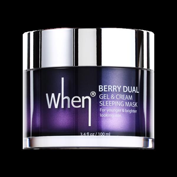 Masca gel&crema regeneranta pentru noapte, 100 ml, When