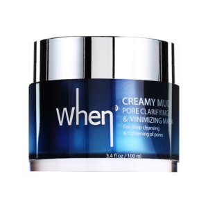 Masca coreana detoxifianta pentru minimizarea porilor, 100 ml, When
