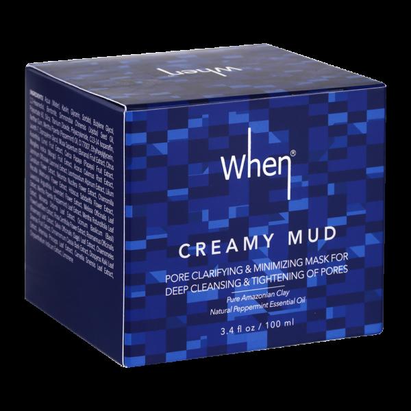 Masca detoxifianta pentru minimizarea porilor, 100 ml, When