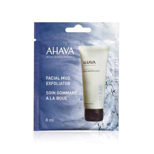 Exfoliant facial cu namol - pentru o singura folosire, Ahava, 8 ml