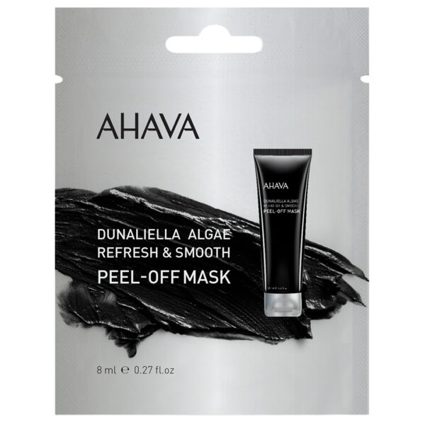 Masca exfolianta din alge Dunaliella - pentru o singura folosire, Ahava, 8 ml