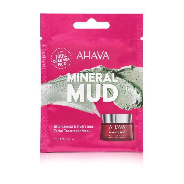 Masca tratament pentru albirea si hidratarea tenului - pentru o singura folosire, Ahava, 6 ml