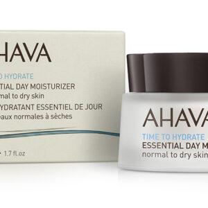 Crema hidratanta esentiala de zi, pentru ten normal sau uscat, Ahava, ...