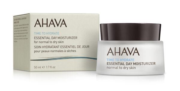 Crema hidratanta esentiala de zi, pentru ten normal sau uscat, Ahava, 50 ml