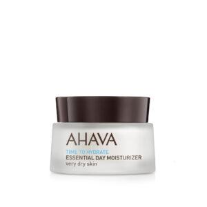 Crema hidratanta esentiala de zi, pentru ten foarte uscat, Ahava, 50 m...