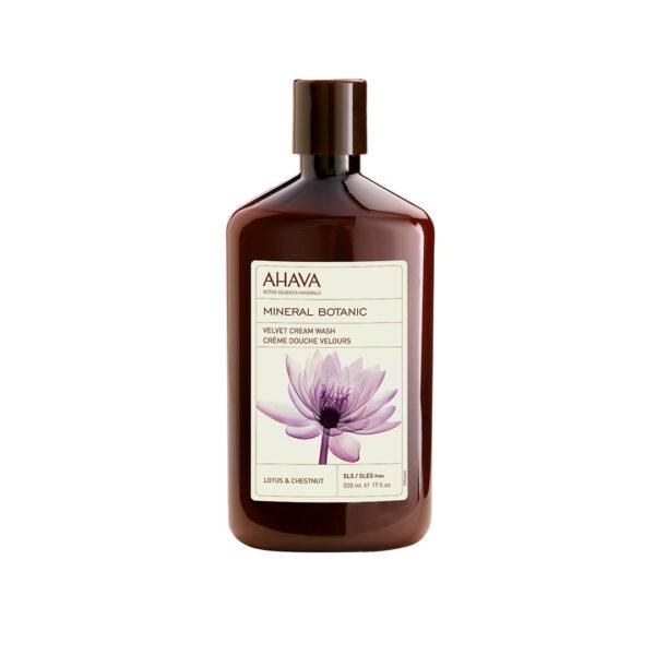 Crema de dus cu minerale botanice si floare de lotus, Ahava, 400ml
