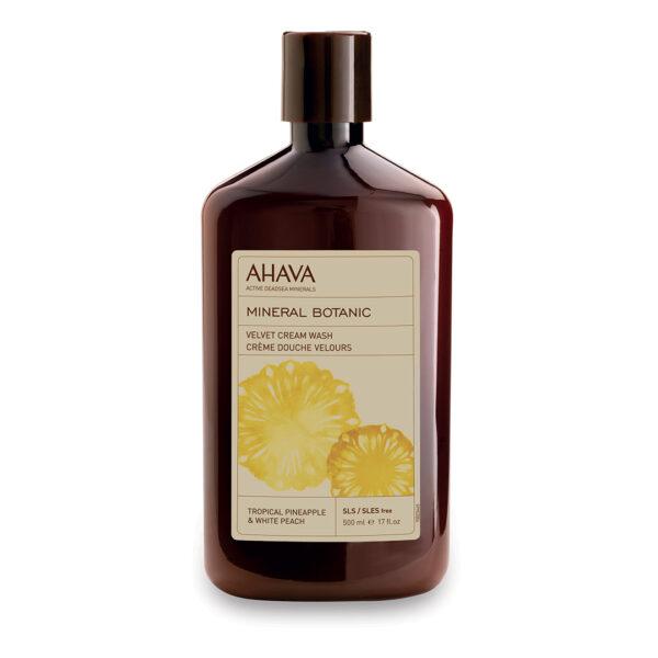 Crema de dus cu minerale botanice si ananas, Ahava, 400ml