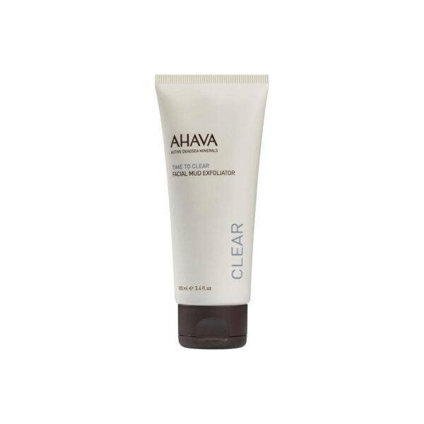 Exfoliant facial cu namol, Ahava, 100 ml