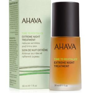 Tratament antirid pentru noapte, Extreme, Ahava, 30 ml