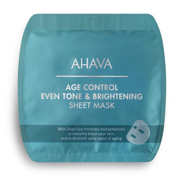 Masca anti-aging pentru fermitatea tenului si luminozitate, Ahava, 1 buc