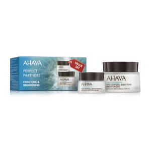 Set Duo antirid – Even Tone&Brightening, Ahava, 50ml+15ml