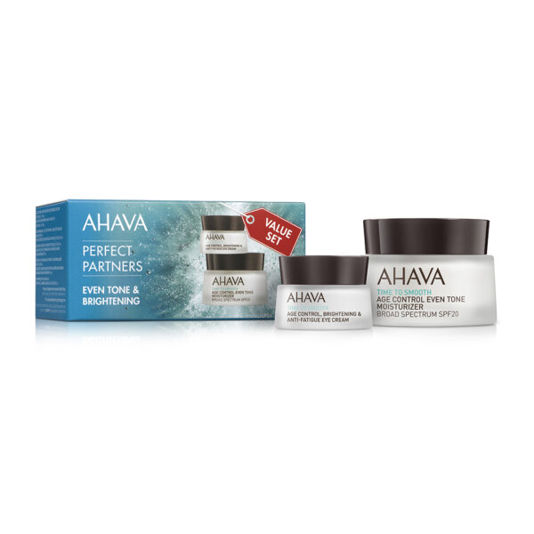 Set Duo antirid - Even Tone&Brightening, Ahava, 50ml+15ml