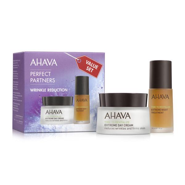 Set Duo pentru reducerea ridurilor - Wrinkle Reduction , Ahava, 30ml+50ml