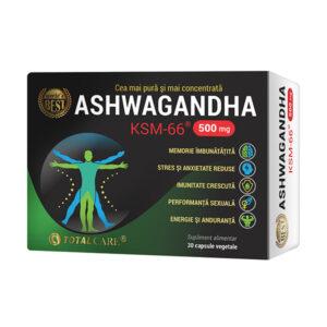 Ashwagandha KSM-66, Cosmo Pharm, 30 capsule vegetale