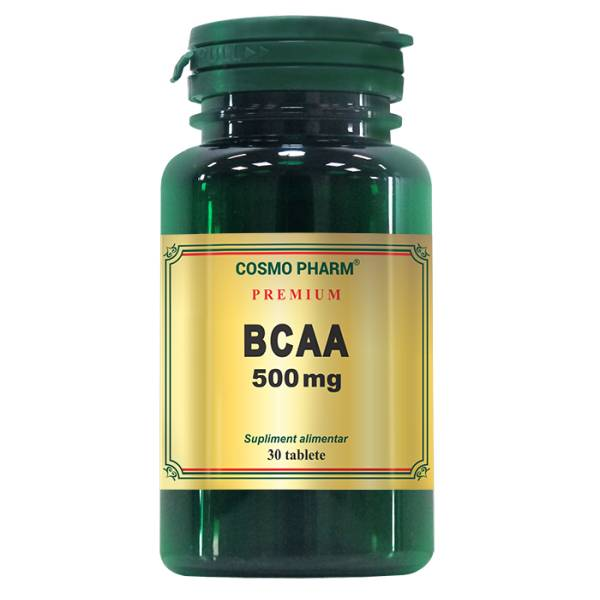 BCAA 500 mg, Cosmo Pharm, 30 tablete