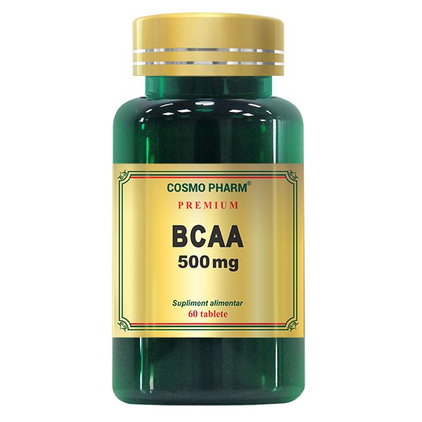 BCAA 500 mg, Cosmo Pharm, 60 tablete