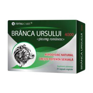 Branca Ursului 4000, Cosmo Pharm,  30 capsule vegetale