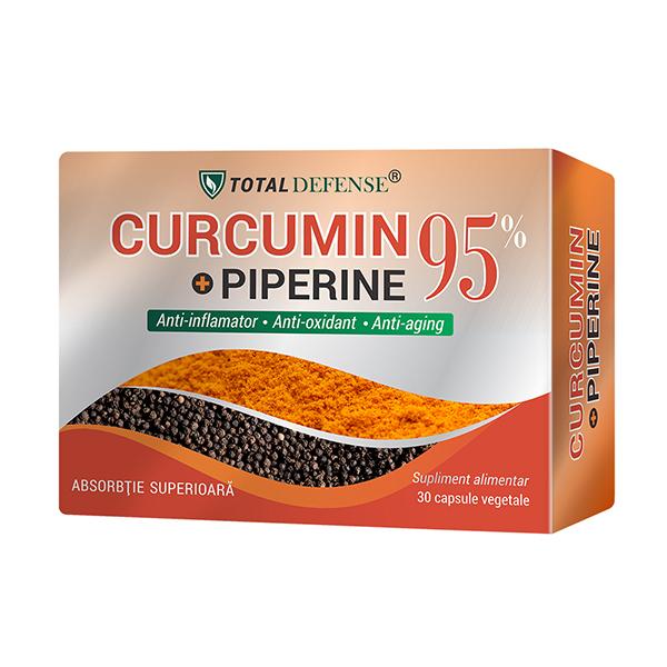 Curcumin + Piperine 95%, Cosmo Pharm, 30 Capsule Vegetale