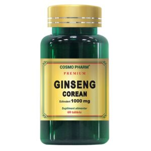 Ginseng Corean 1000mg, Cosmo Pharm, 60 tablete