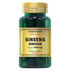 Ginseng Siberian Premium 1000mg, Cosmo Pharm, 60 tablete