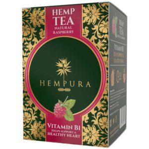 Ceai de canepa cu zmeura, Hempura, 20 pliculete