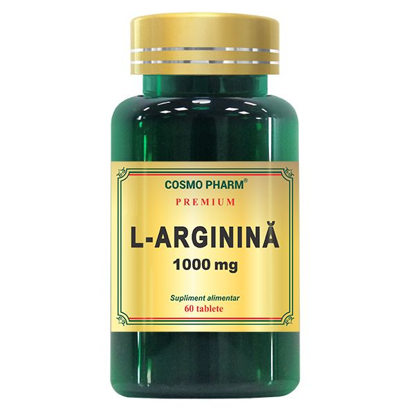 L-Arginina 1000 Mg, Cosmo Pharm, 60 tablete