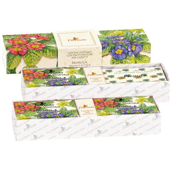 Set cadou odorizant Florinda cu flori de Primula, La Dispensa
