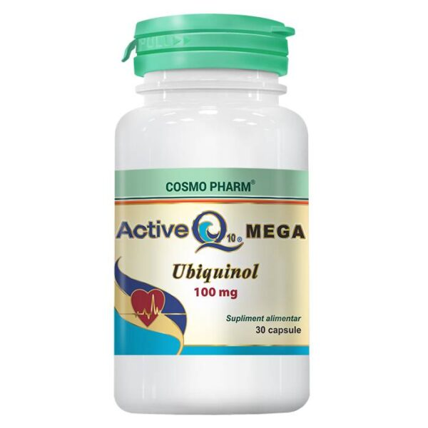 Active Q10 Mega Ubiquinol, Cosmo Pharm, 30 capsule