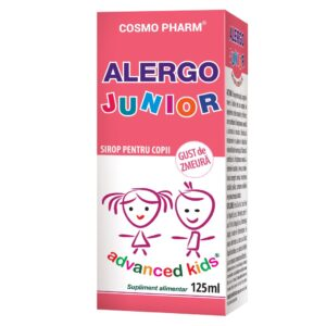 Alergo Junior Sirop, Cosmo Pharm, 125 ml