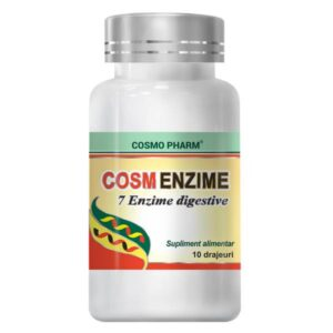 Cosm Enzime, Cosmo Pharm, 10 Drajeuri