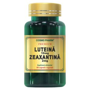 Luteina 10mg Zeaxantina 2mg, Cosmo Pharm, 60 capsule